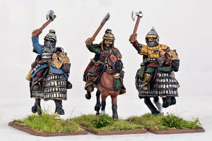 Gripping Beast 28mm Mongols: Heavy Cavalry (Hand Weapons) (3)