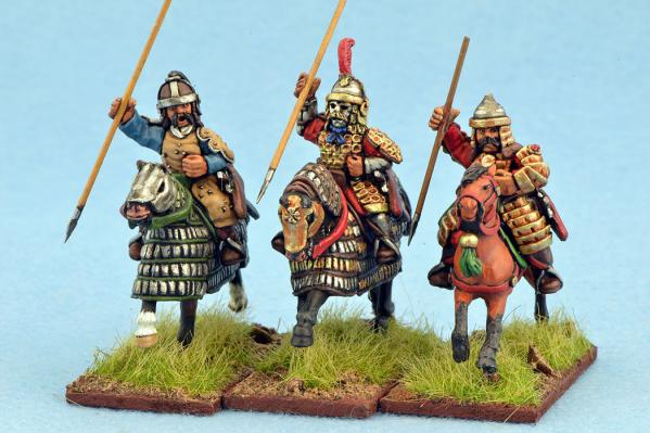 Gripping Beast 28mm Mongols: Heavy Cavalry (Spears) (3)