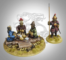 Gripping Beast 28mm Mongols: Victory Feast Vignette (4)