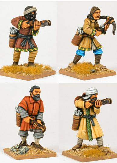Gripping Beast 28mm Moors: Andalusian Crossbowmen (4)