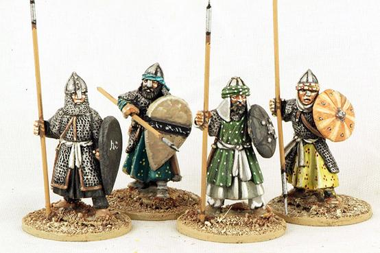Gripping Beast 28mm Moors: Andalusian Spearmen (Armoured) (4)