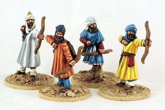 Gripping Beast 28mm Moors: Archers (4)