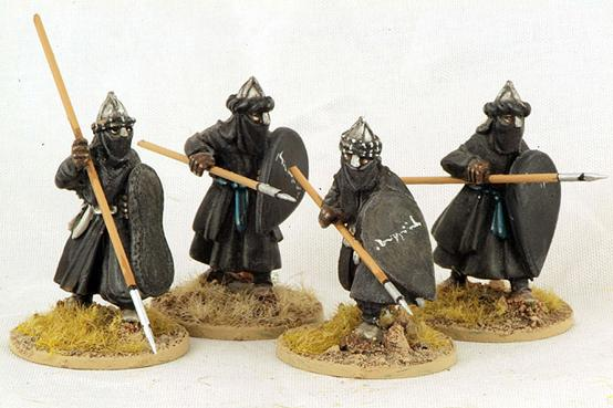 Gripping Beast 28mm Moors: Ben Yusefs Black Guard (Advancing) (4)