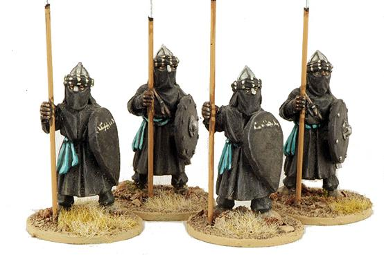 Gripping Beast 28mm Moors: Ben Yusefs Black Guard (Standing) (4)