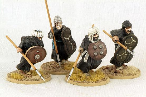 Gripping Beast 28mm Moors: Berber Spearmen (Charging) (4)
