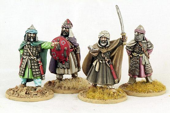 Gripping Beast 28mm Moors: Commanders (4)