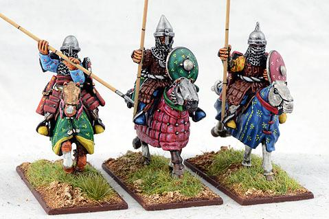 Gripping Beast 28mm Timurid: Heavy Cavalry (3)