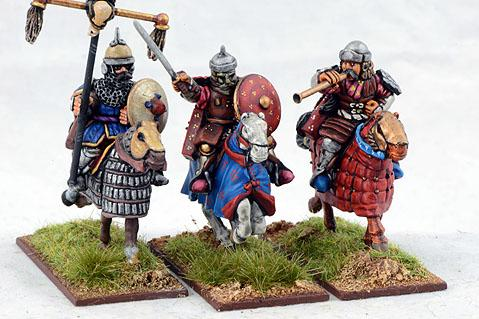 Gripping Beast 28mm Timurid: Heavy Cavalry Command (3)