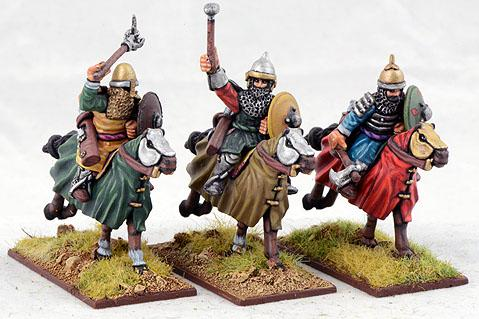 Gripping Beast 28mm Timurid: Heavy Cavalry (Hand Weapons) (3)
