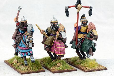 Gripping Beast 28mm Timurid: Medium Cavalry Command (3)