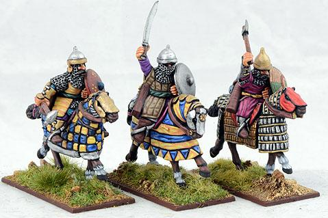 Gripping Beast 28mm Timurid: Medium Cavalry (Hand Weapons) (3)