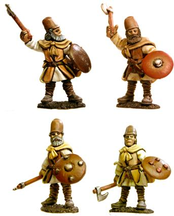 Gripping Beast 28mm Timurid: Tajic Archers (Hand Weapons) (4)