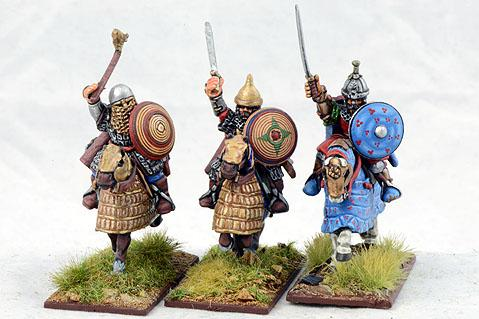 Gripping Beast 28mm Timurid: Timurid Officers (3)