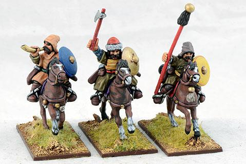 Gripping Beast 28mm Timurid: Turco-Mongolian Light Cavalry Command (3)