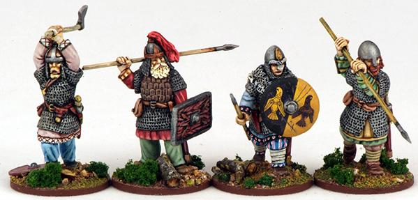 Gripping Beast 28mm Viking Age: Jomsvikings- Jomsvikings #3 (4)