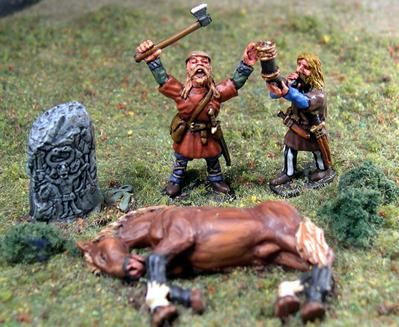 Gripping Beast 28mm Viking Age: Jomsvikings- Sacrifice To Odin (4)
