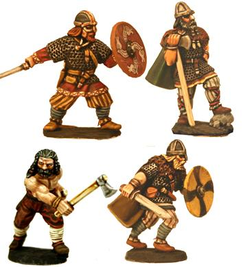Gripping Beast 28mm Viking Age: Jomsvikings- Viking Heroes (4)