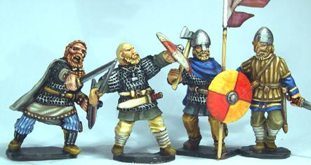 Gripping Beast 28mm Viking Age: Jomsvikings- Viking Raider Command (4)