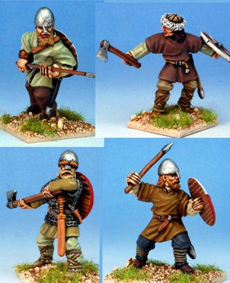 Gripping Beast 28mm Viking Age: Jomsvikings- Viking Raiders #1 (4)