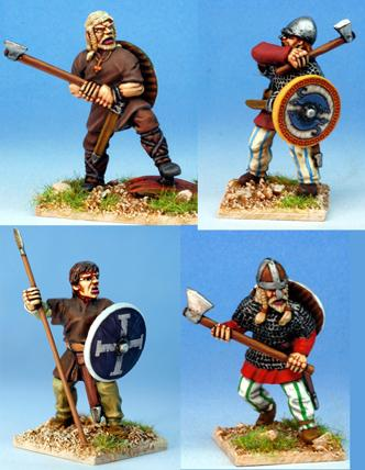 Gripping Beast 28mm Viking Age: Jomsvikings- Viking Raiders #2 (4)