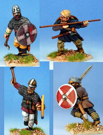 Gripping Beast 28mm Viking Age: Jomsvikings- Viking Raiders #3 (4)