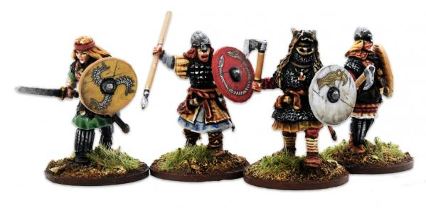Gripping Beast 28mm Viking Age: Shieldmaiden- Hearthguard