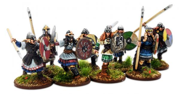 Gripping Beast 28mm Viking Age: Shieldmaiden- Warriors