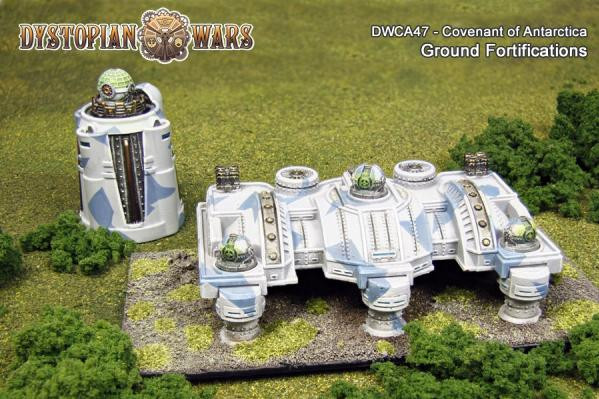 Dystopian Wars: Covenant of Antarctica: Ground Fortifications