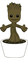 "Guardians Of The Galaxy: Baby Groot 10"" Plush"