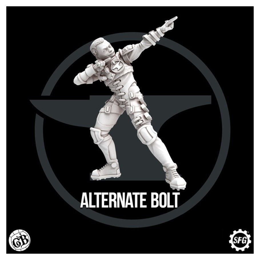 GuildBall: Blacksmith's Guild: Bolt: Limited Edition Alternate Sculpt