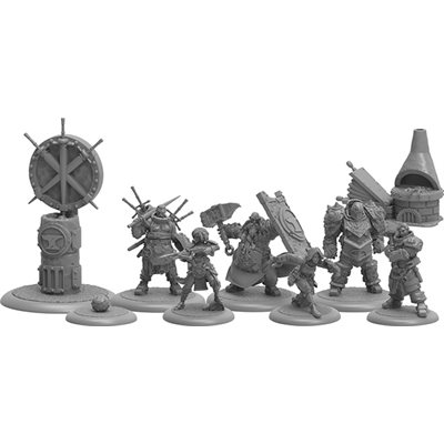 GuildBall: Blacksmith's Guild: Forged from Steel