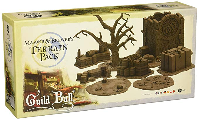 GuildBall: Masons and Brewers: Terrain Pack