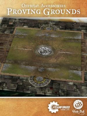 GuildBall: Play Mat: Proving Grounds