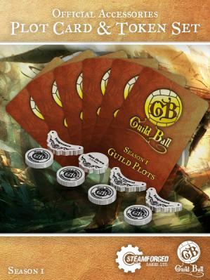 GuildBall: Plot Card & Token Set
