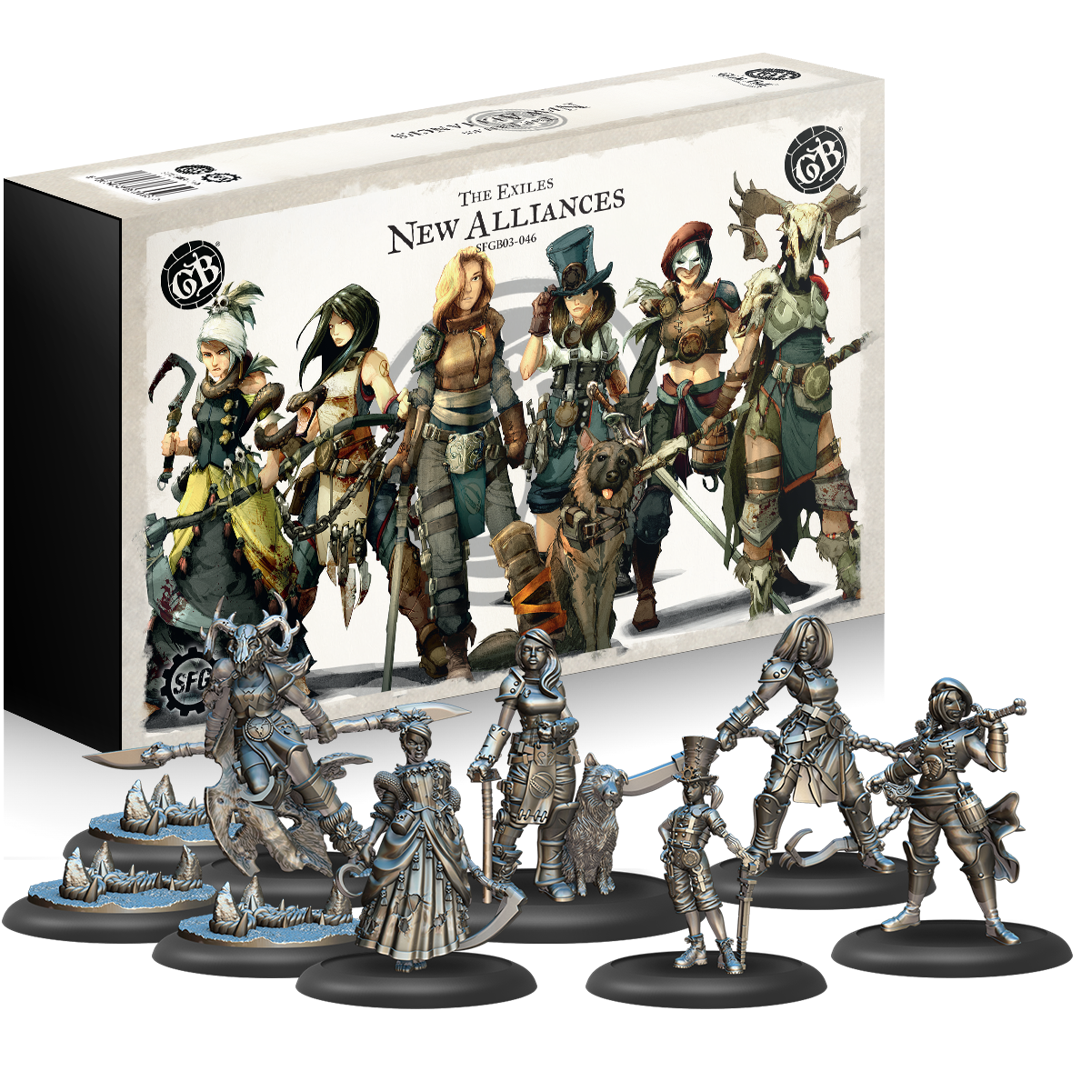GuildBall: The Exiles: New Alliances