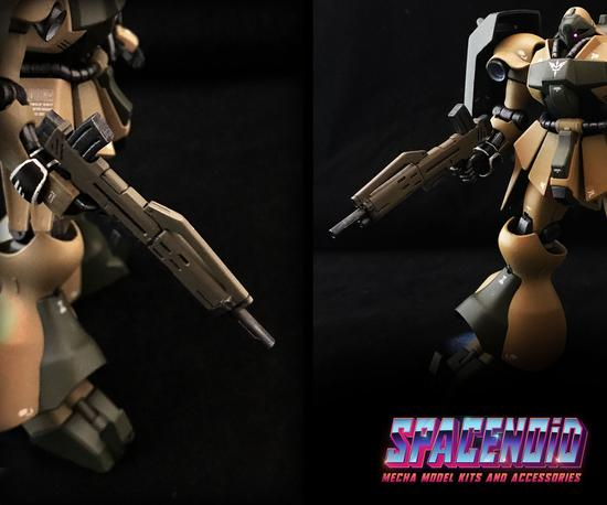 Gundam 3D Printed Aftermarket Kits: Beam Machine Gun 1/144