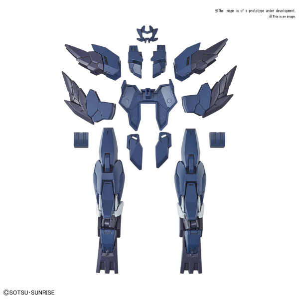 Gundam High Grade (HG) Build Divers Re:RIse (1/144): #017 MERCUONE UNIT HIROTOS SUPPORT UNIT