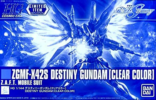 Gundam High Grade Cosmic Era: ZGMF-X42S Destiny Gundam [Clear Color]