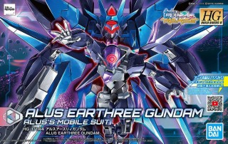 Gundam High Grade (HG) Build Divers Re:RIse (1/144): #022 Alus Earthree Gundam