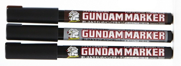 Gundam Marker: GM302P Pour Type Silver
