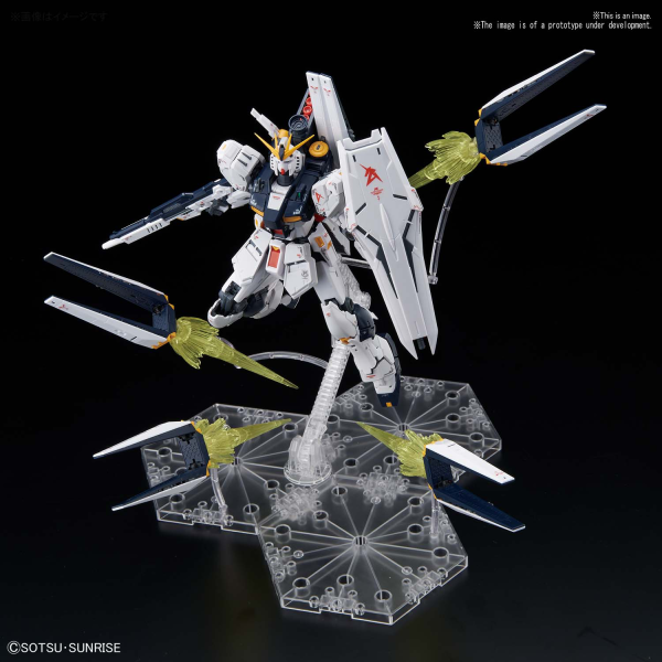 Gundam Real Grade: Nu GUNDAM FIN FUNNEL EFFECT SET