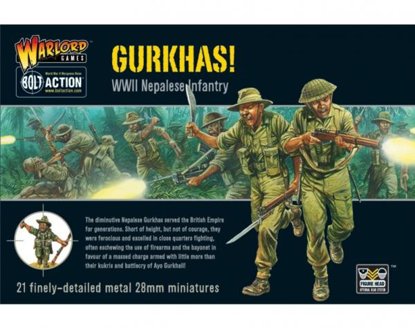 Bolt Action: British: Gurkhas