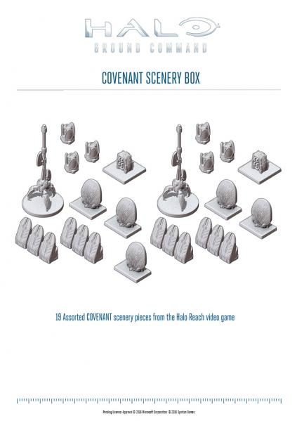 HALO Ground Command: Covenant Scenery Box