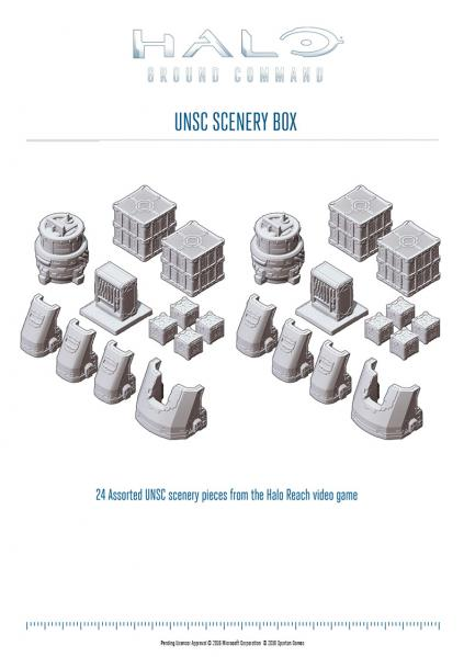 HALO Ground Command: USNC Scenery Box
