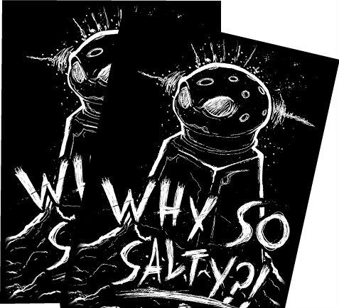 HCD Supplies Art Sleeves (50): Why So Salty?