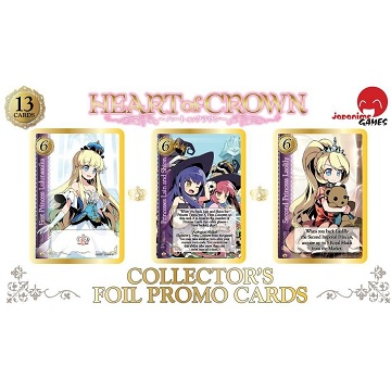 HEART OF CROWN FOIL CARD SET