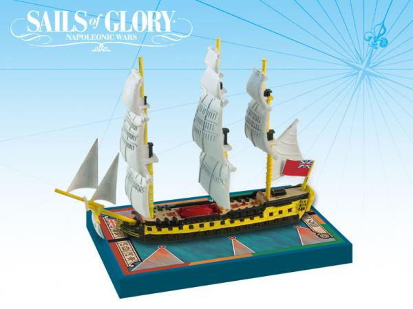 Sails of Glory: HMS Impétueux 1796 S.o.L. British Ship Pack