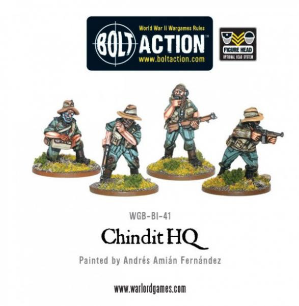 Bolt Action: Chindits: HQ