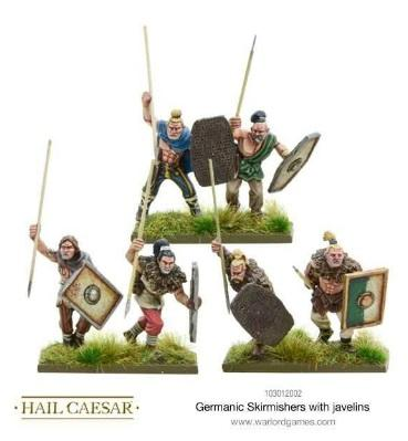 Hail Caesar: Germanic: Skirmishers with Javelins
