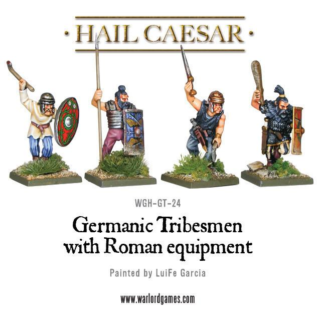 Hail Caesar: Germanic: Tribesmen with Roman equipment